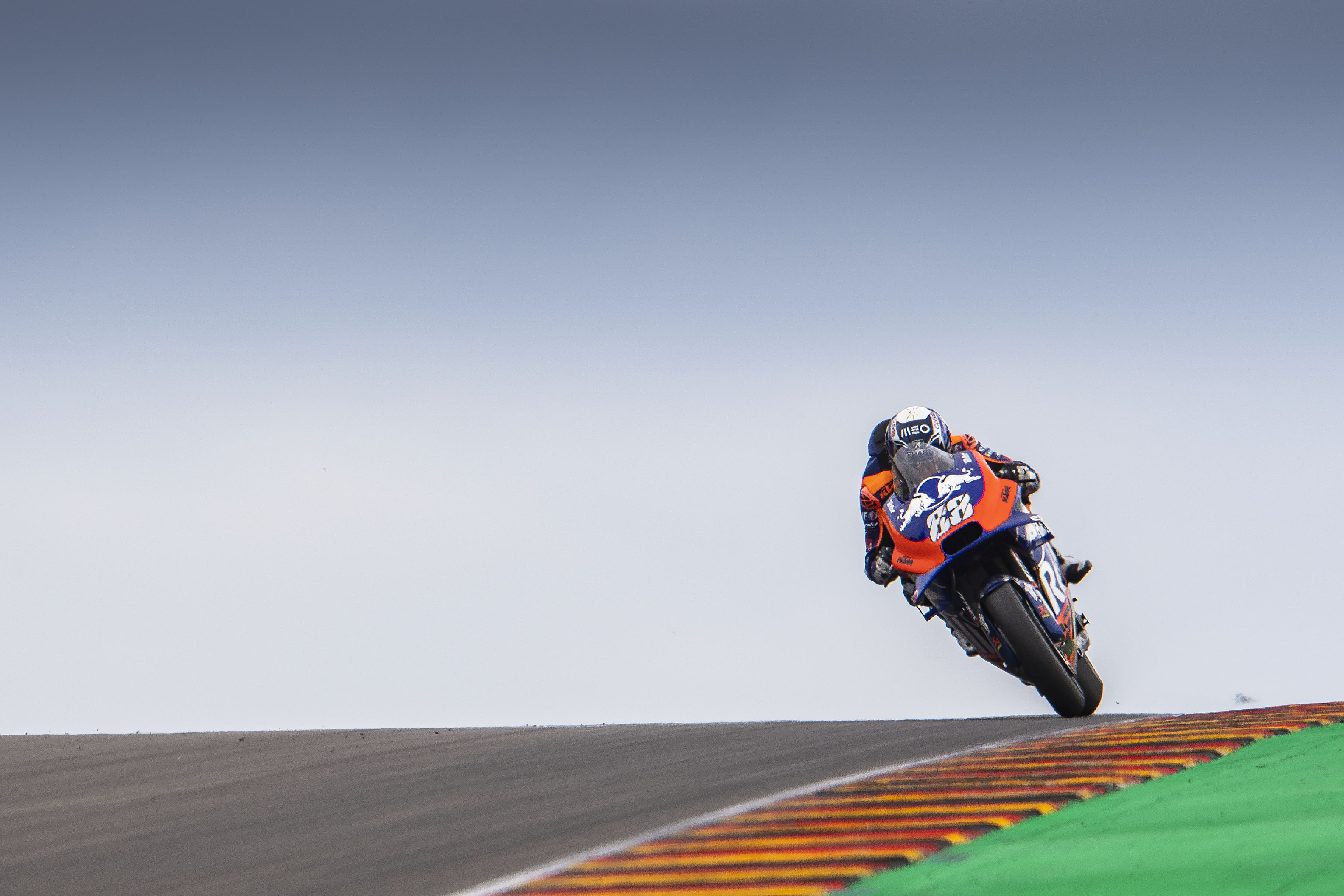 Oliveira and Syahrin learn Sachsenring aboard their KTM